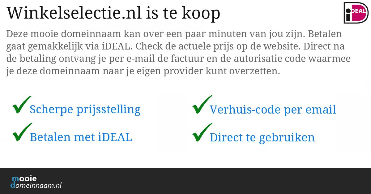 (c) Winkelselectie.nl
